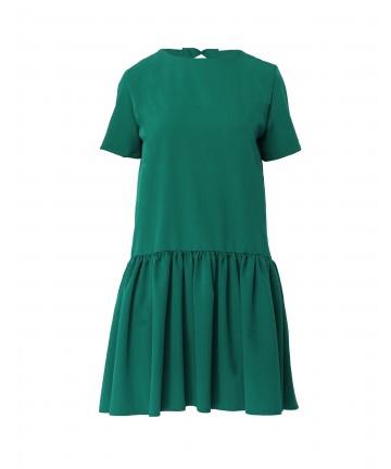 """Rochie Verde cu Funda """"Alice"""""""