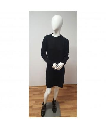 Rochie pulover neagra