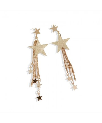 "Cercei aurii ""Falling Stars"""