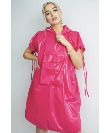 Vesta pelerina roz fuchsia...
