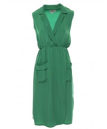 Rochie verde Linda