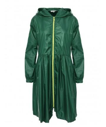 Pelerina de ploaie verde