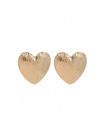 Cercei Gold Hearts