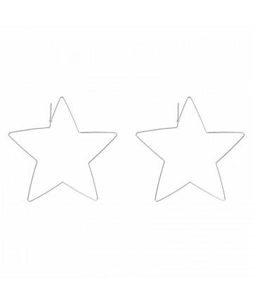 Cercei Argintii The Big Star