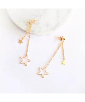 Cercei Aurii Golden Stars